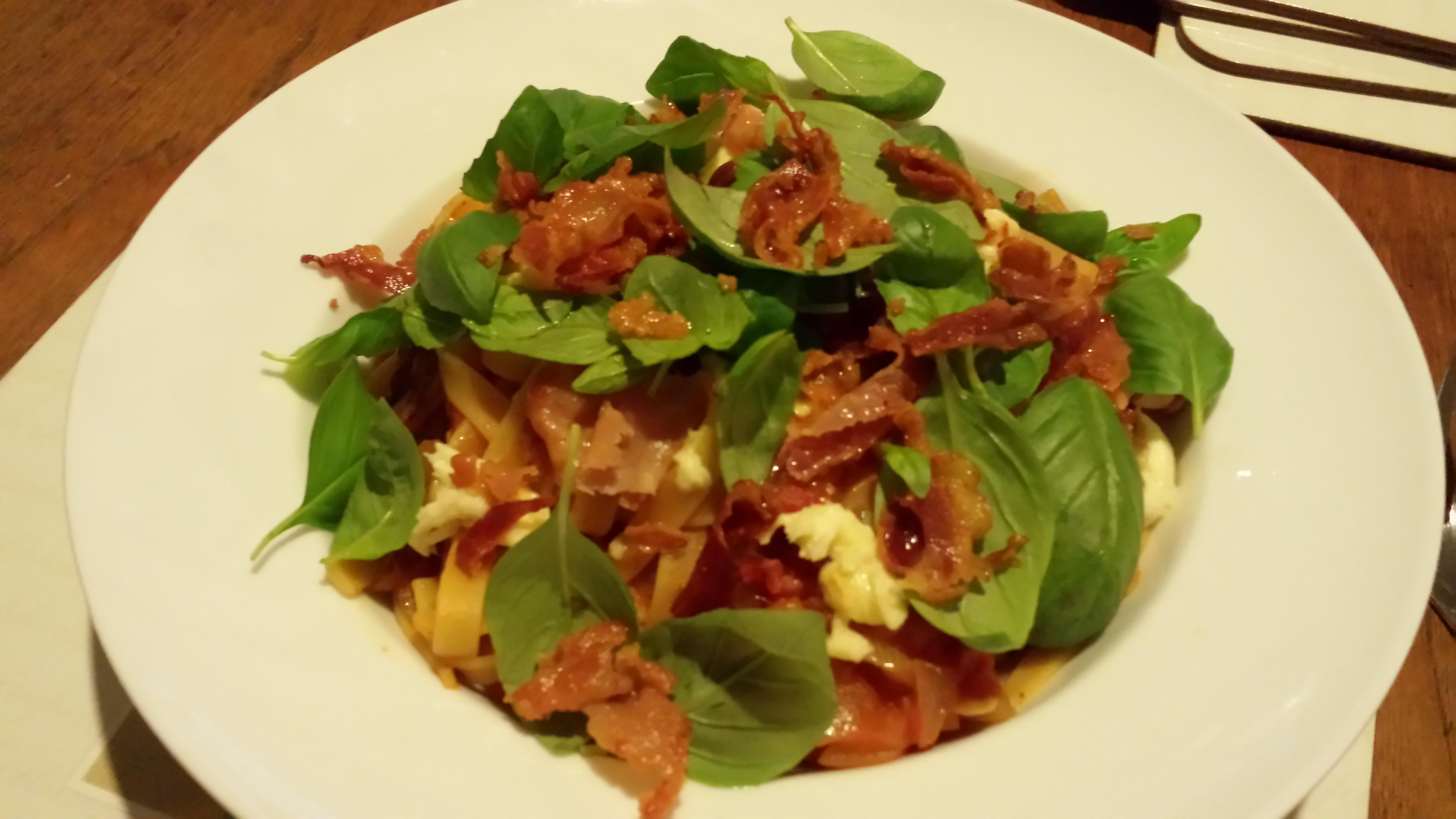 Crispy Pancetta, Burrata, And Tomato Sandwiches Recipe ...