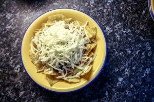 Elly's slow cooker chicken nachos